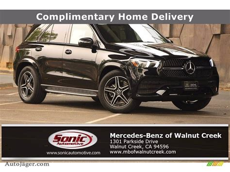 Aluminum side windows trim and black front. 2020 Mercedes-Benz GLE 350 in Black for sale - 255145 | Auto Jäger - German Cars for sale in the US