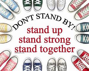 Anti-Bullying Poster {{FREE DOWNLOAD}} OCTOBER Campaign ...