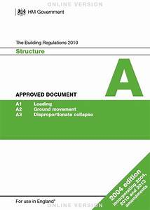 Building regulations approved documents planning for Part a approved documents