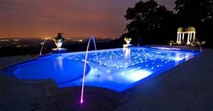 Eclairage Terrasse Piscine : eclairage piscine ou l 39 art de joindre l 39 utile et l 39 agr able ~ Melissatoandfro.com Idées de Décoration