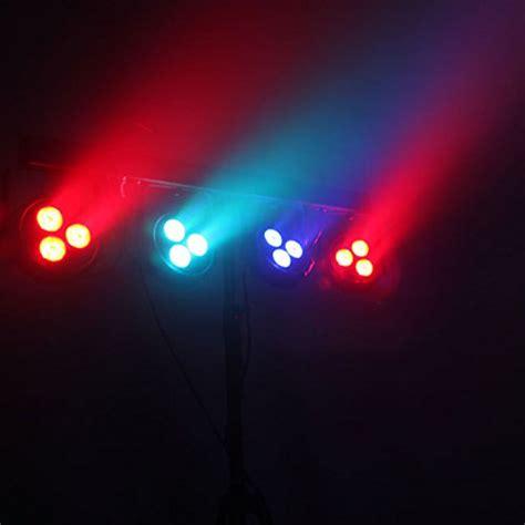 led stage lighting kit dragonx 4 bar led mobile dj stage lighting packages led
