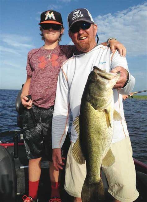fishing okeechobee lake south end report oct bass october magazine