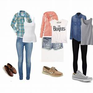 Outfit Inspiration  Casual Outfits For School | Gray converse Brown oxfords and Light blue jeans