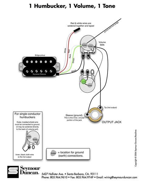 Single Humbucker Wiring Issue Offsetguitars