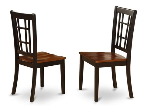 Set Of 2 Nicoli Dinette Kitchen Dining Chairs W/ Plain Round Rattan Coffee Table Top Drill Press Small Accent Tables Runner Pool Cloth Slab Wood Concrete Steam