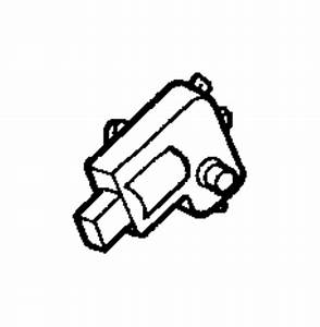 Jeep Grand Cherokee Door  Hvac  Actuator  Manual Control