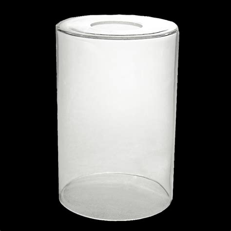 7907 clear glass cylinder neckless shade glass lshades