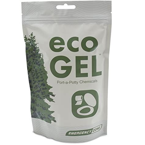 Eco Gel Portapotty And Emergency Toilet Chemicals, Ecofriendly Liquid Waste Gelling And