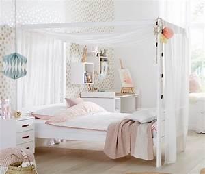 Mädchen Bett 120x200 : lifetime himmelbett 120x200 cm aus massiver kiefer original ~ A.2002-acura-tl-radio.info Haus und Dekorationen
