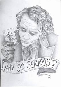 WHY SO SERIOUS? by MariaKillsxx on DeviantArt