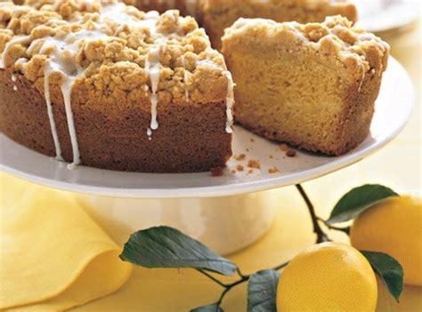 An elegant and springtime coffee cake recipe, meyer lemon coffee cake is covered with streusel and glaze. Meyer Lemon Coffee Cake   Recipe (With images)   Lemon ...