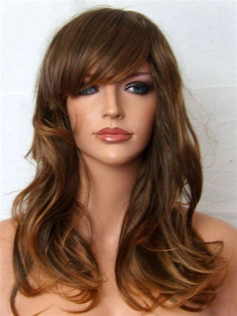 light brown wig light brown ombre wig fashion hair wig