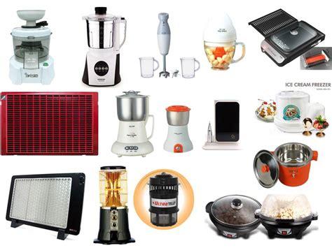 List Of Kitchen Appliances  Kitchen Ideas Kitchen