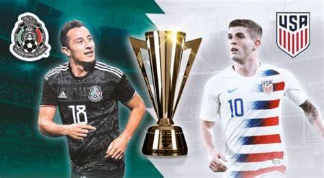 Domingo 7 de julio de 2019. ¿En qué Canales ver EN VIVO México vs Estados Unidos Final Copa Oro 2019? Las Estrellas, Azteca ...