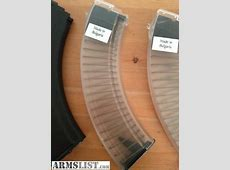 ARMSLIST For Sale AK47 bulgarian clear 40rd magazines