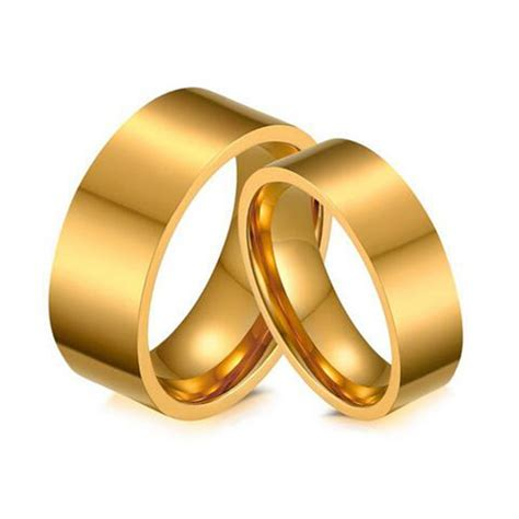 gold wedding band for and quality stainless steel ring quality alliance