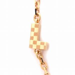 Louis vuitton love letters timeless long necklace 69264 for Louis vuitton letter necklace