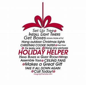 Help hanging Christmas lights Christmas decorations