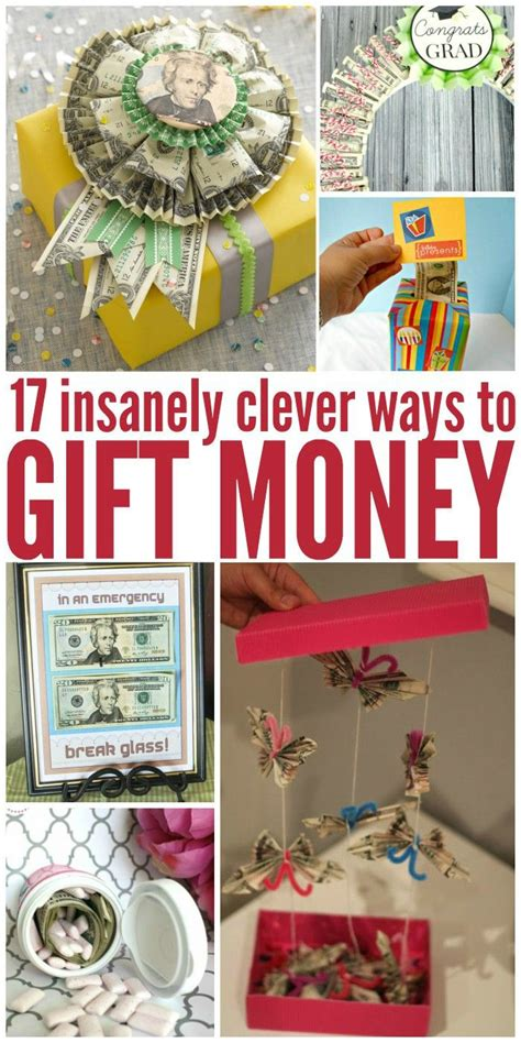 insanely clever possibly annoying ways  give money