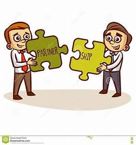 Partnership Cartoon | www.imgkid.com - The Image Kid Has It!