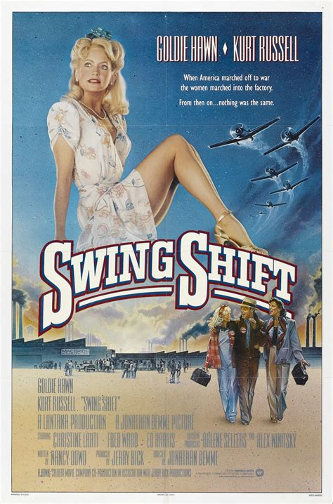swing shift jonathan demme a tribute in posters the reel bits
