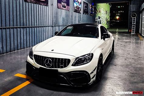 It still has to snow for a while if this mercedes cannot get away. 2019-2021 Mercedes Benz W205 C63/S AMG Coupe IMP Style Partial Carbon Fiber Front Bumper ...