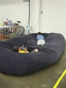 Oversized Floor Pillow by Bean Bag Sofa Bed