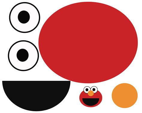 Elmo Cut Out Template by Best Photos Of Elmo Cut Out Elmo Cut Out Template