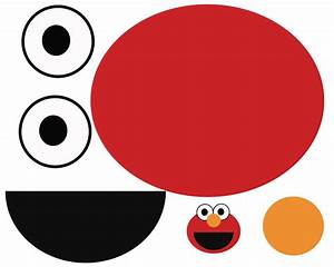 best photos of elmo cut out elmo cut out template With elmo cut out template