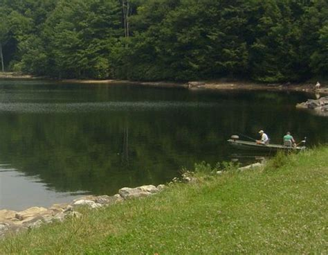 russell county va laurel bed lake fishing new river