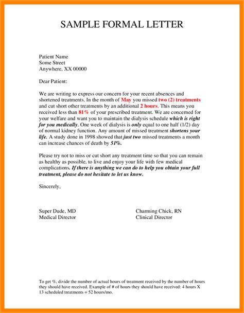 informal letter format 6 informal letter sle format pandora squared 67770