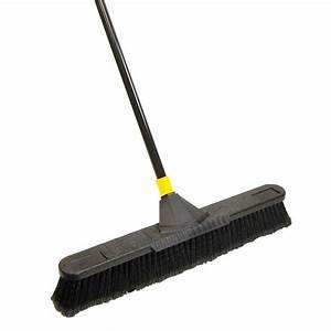 Quickie Brooms & Mops Bulldozer Soft Sweep Push Broom ...