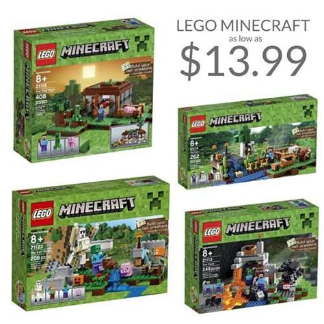 lego minecraft sets  sale