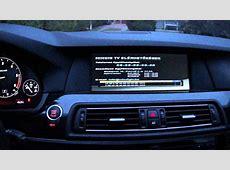 BMW F10 F11 F01 PIP video multimedia interface Mpeg4 TV