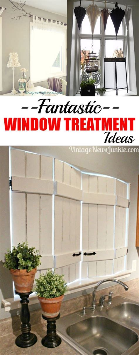 Unique Window Treatment Ideas   Window treatments