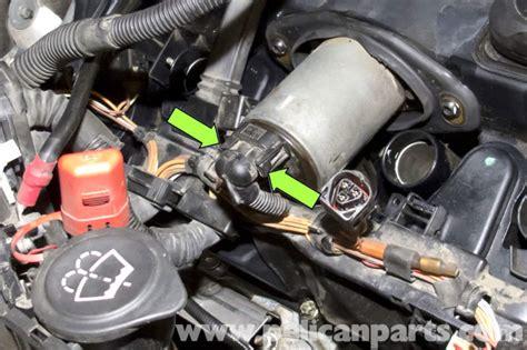 bmw e90 valvetronic motor replacement e91 e92 e93 pelican parts diy maintenance article