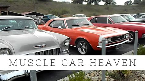 classic muscle car dealership in the smokey mountains tennessee youtube