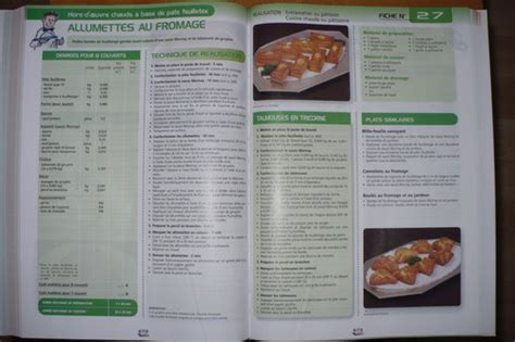 fiche technique de fabrication cuisine collective cap cuisine archives cookée