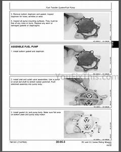 John Deere Rx63 Rx73 Tx75 Sx75 Rx95 Sx95 Repair Manual