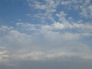 Free Stock Photo of Cloud patterns in partly cloudy sky ...