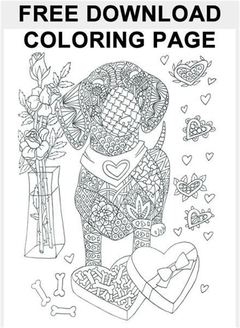 love dachshunds coloring page  lovethebreedcom