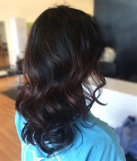 vibrant dark hair colors
