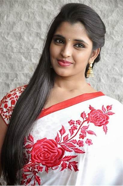 Anchor Saree Shyamala Latest Telugu Syamala Stills