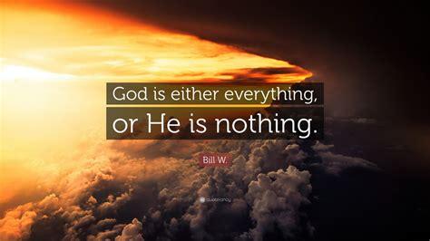bill  quote god