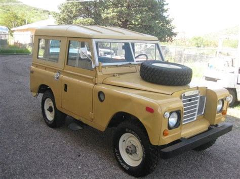 land rover series 3 off road buy used 1973 land rover series 3 aluminum body 4x4 off
