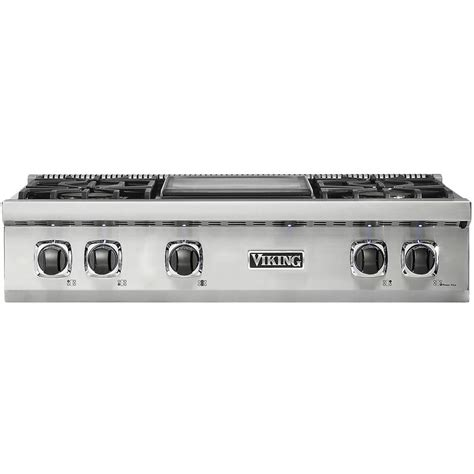 Viking Downdraft Cooktop by Viking Professional 5 Series 35 9 Quot Gas Cooktop