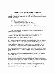 Child Support Agreement Letter Template Indiana Divorce Forms Free Templates In Pdf Word Excel