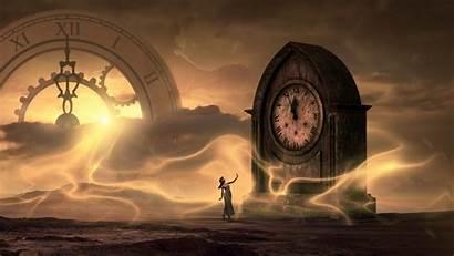 Mysterious 4k Fantasy Clock