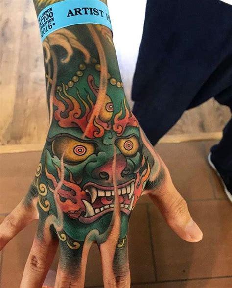 japanese hand tattoo  atzhanshantattoo japaneseink