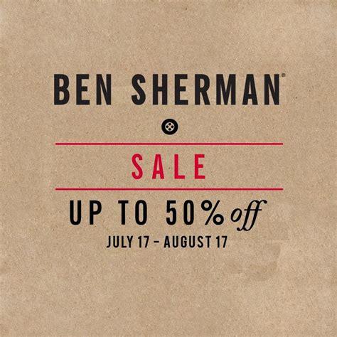 manila shopper ben sherman   season sale july aug